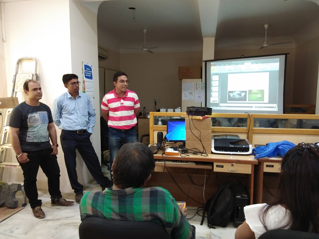 Team Pratham Presented Ideas On How To Save Environment 30th June 2018