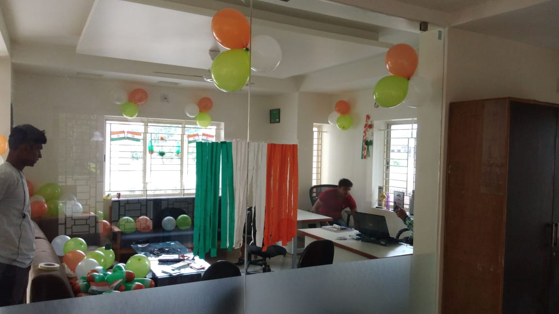 Pre-Independence Day Celebration at Pratham 14th Aug 2018