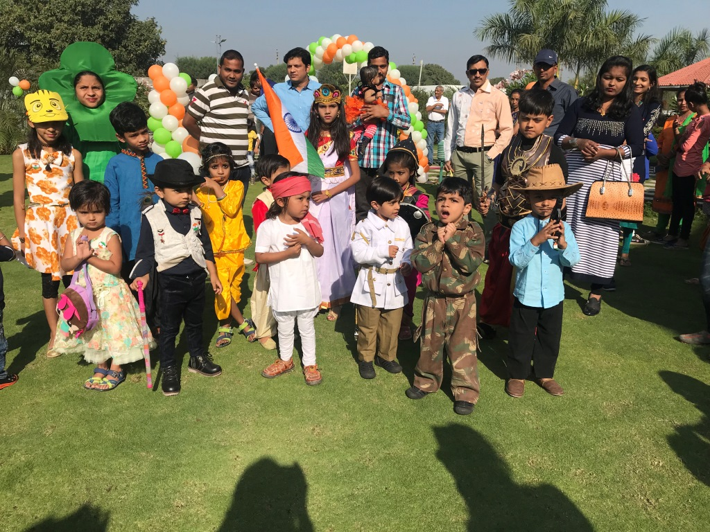 Republic Day Celebration At Pratham Bluets 26th Jan 2018
