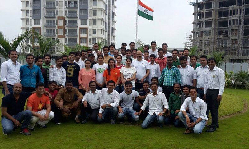 15th Aug 2015 celebration independence day at Pratham Bluets