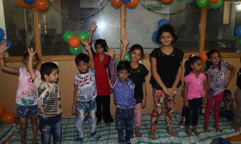 Kids Play Day At Pratham