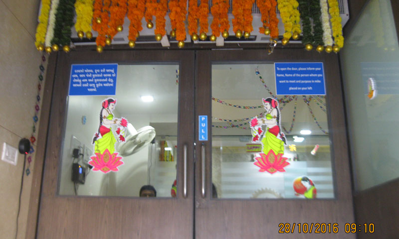 Laxmi Puja At Pratham 28th Oct 2016